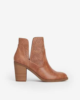 Express Perforated Side Slit Booties