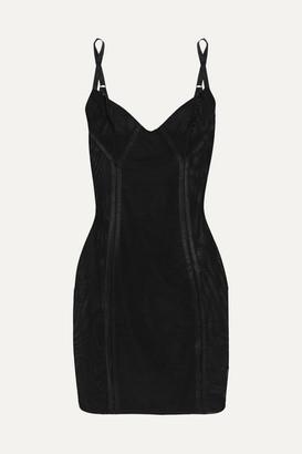 Spanx Haute Contour Nouveau Stretch-mesh Slip - Black
