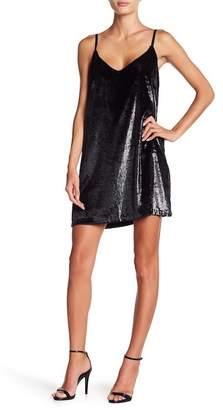 MinkPink Tincel Slip Dress