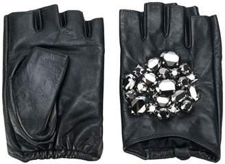 Karl Lagerfeld Geo Stone gloves