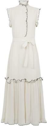 Tory Burch Meredith Plisse Dress