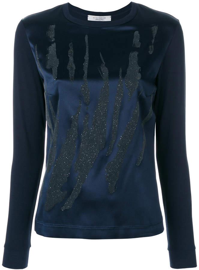 D-Exterior D.Exterior glitter blouse