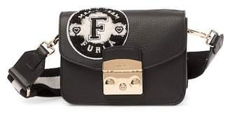 Furla Metropolis Mini Leather Crossbody Bag