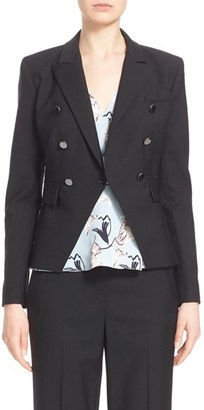 Women's Nordstrom Signature And Caroline Issa Wool Suiting Jacket $795 thestylecure.com