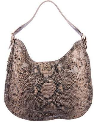 9809d07e0f3e Pre-Owned at TheRealReal · Tory Burch Embossed Leather Hobo