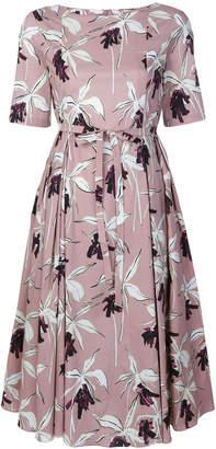 Max Mara 'S floral midi dress