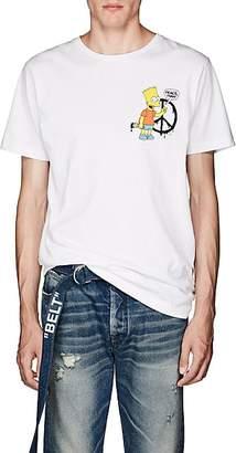 Off-White Off - White c/o Virgil Abloh Men's Bart Jersey T-Shirt - White
