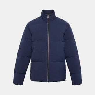Theory Seersucker Puffer Jacket