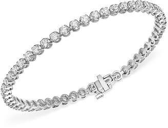 Bloomingdale's Diamond Tennis Bracelet in 14K White Gold, 4.0 ct. t.w. - 100% Exclusive