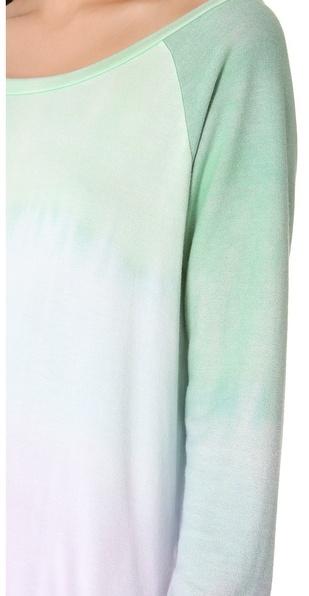 Blue Life Lightweight Fleece Long Sleeve Tee