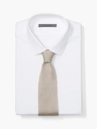 Silk Striped Knit Tie $148 thestylecure.com