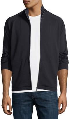 Ermenegildo Zegna Techmerino Techmerino Full-Zip Sweatshirt