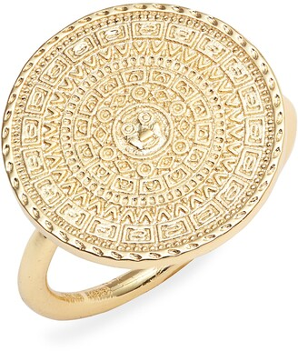 Sterling Forever Medallion Ring