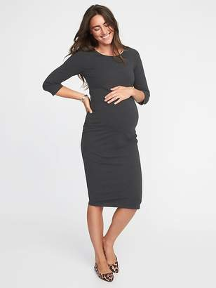 Old Navy Maternity Boat-Neck Bodycon Dress
