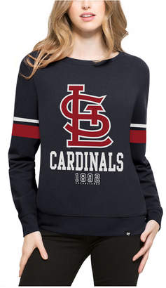 '47 Women's St. Louis Cardinals Throwback Crew Sweatshirt