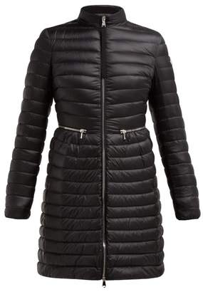 Moncler Agatelon Lightweight Quilted Down Coat - Womens - Black