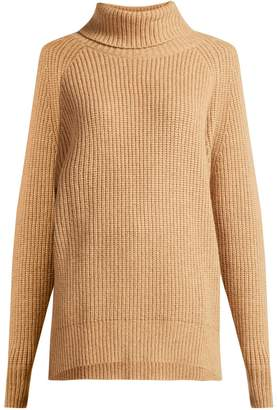 Nili Lotan Anitra roll-neck wool-blend sweater