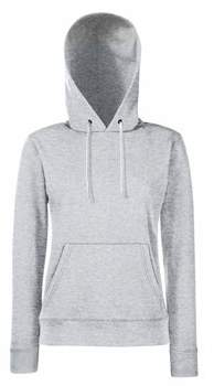 Fruit of the Loom Womens FOTL Lady Fit Hooded Sweatshirt