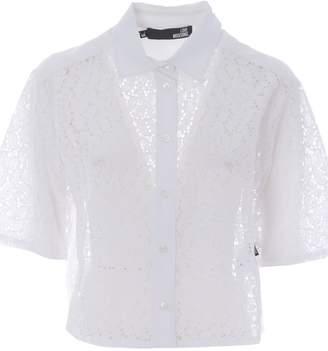 Love Moschino Perforated Shirt