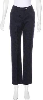 Max & Co. MAX&Co. Pattered Mid-Rise Pants