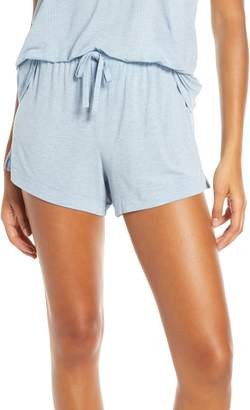 Tommy John Second Skin Luxe Ribbed Lounge Shorts
