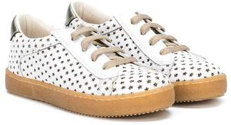 Pépé star detail lace-up sneakers