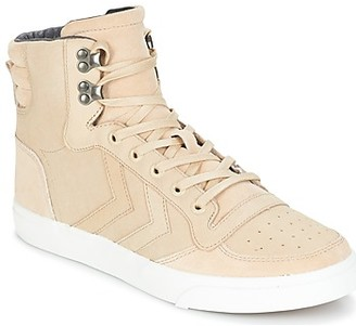 Hummel STADIL WINTER women's Shoes (High-top Trainers) in Beige