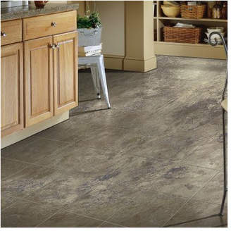 "Armstrong Flooring Stone Creek 12"" x 48"" x 8mm Tile Laminate Flooring in Azul"