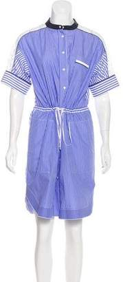 Aquilano Rimondi Aquilano.Rimondi Stripe Print Shirtdress