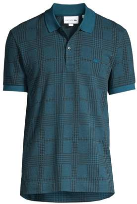 Lacoste Jacquard Chic With A Twist Polo