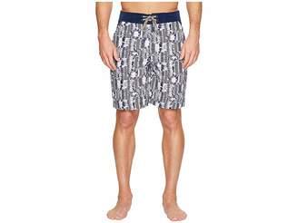 Robert Graham Tongva Park Woven Swim Trunk Men's Swimwear