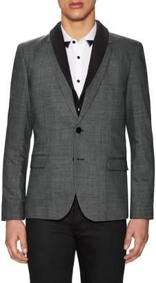 HUGO BOSS Men's Ardin Wool Hidden Vest Sport Coat
