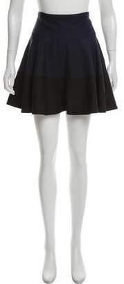 Derek Lam Fluted Silk Skirt