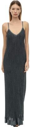 M Missoni Long Lurex Viscose Knit Dress