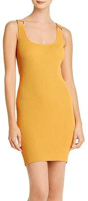 GUESS Coss Rib-Knit Body-Con Dress