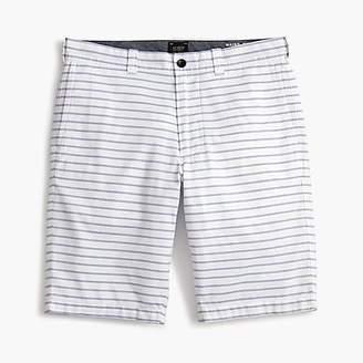 "J.Crew 10.5"" Striped Oxford Short"