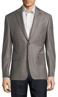 TailoRED Check Wool Sportcoat