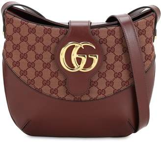 Gucci ARLI ORIGINAL GG LEATHER SHOULDER BAG