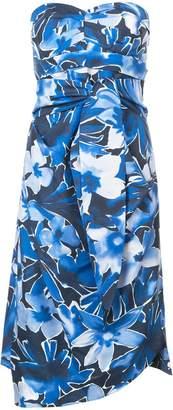 Michael Kors floral print tube dress