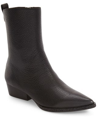 Women's Calvin Klein Kiki Pointy Toe Bootie $394.95 thestylecure.com