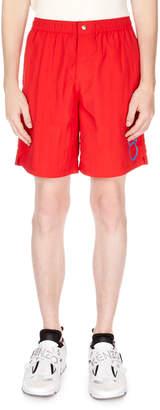 Kenzo Men's Medium Logo Shorts