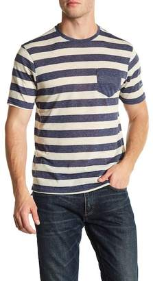 Heritage Striped Crew Neck Tee