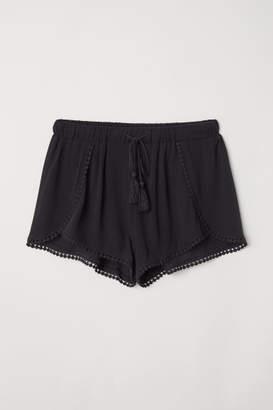 H&M Pull-on Shorts - Black