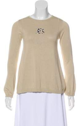 Burberry Girls' Embroidered Top
