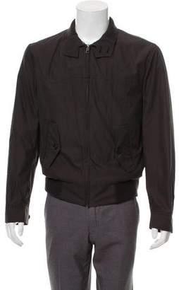 Marc Jacobs Plaid Lined Harrington Jacket
