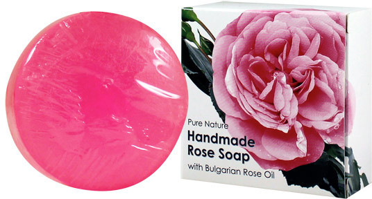 Smallflower Alteya Organics Organic Bulgarian Rose Soap