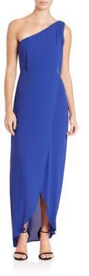 BCBGMAXAZRIAOne-Shoulder Dries Gown