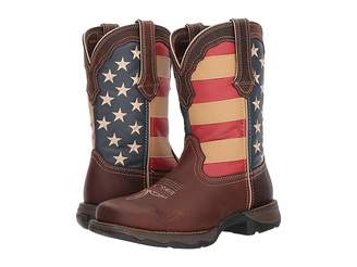 Durango Lady Rebel Flag Steel Toe
