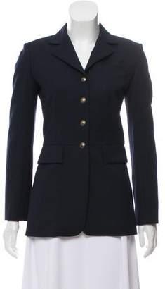 Hermes Wool-Blend Short Coat
