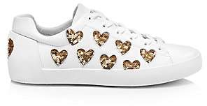 Ash Women's Nikita Sequin Heart Sneakers